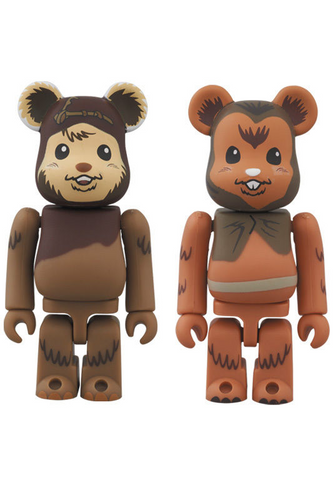 Medicom STAR WARS 2 PACK WICKET & ROMBA 4530956465517
