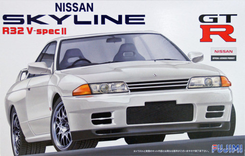 Fujimi ID-47 Nissan Skyline R32 V-spec II 1/24 Scale Kit