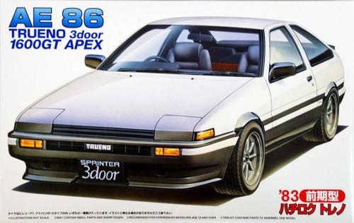 Fujimi ID-52 Toyota Trueno 1600GT APEX AE86 1/24 Scale Kit