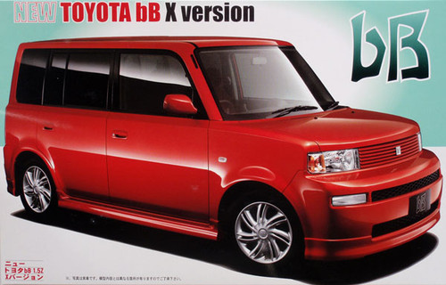 Fujimi ID-54 Toyota bB X Version 1.5Z 1/24 Scale Kit