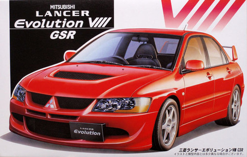 Fujimi ID-56 Mitsubishi Lancer Evolution VIII GSR 1/24 Scale Kit 035482