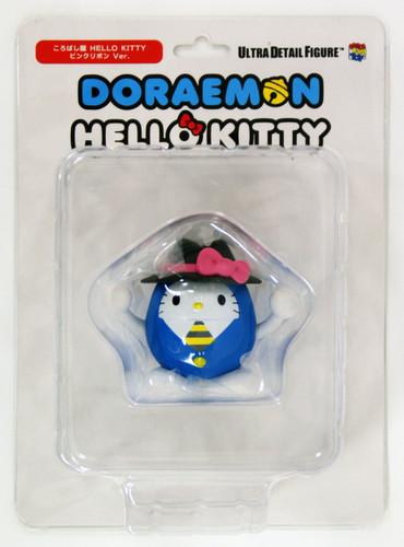 Medicom UDF-272 Ultra Detail Figure Doraemon X Hello Kitty Korobashiya 2 Pink