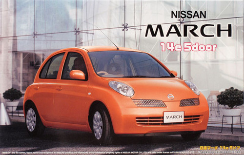 Fujimi ID-62 Nissan March 14e 5-door 1/24 Scale Kit
