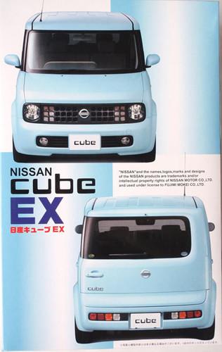Fujimi ID-66 Nissan Cube EX 1/24 Scale Kit 036496