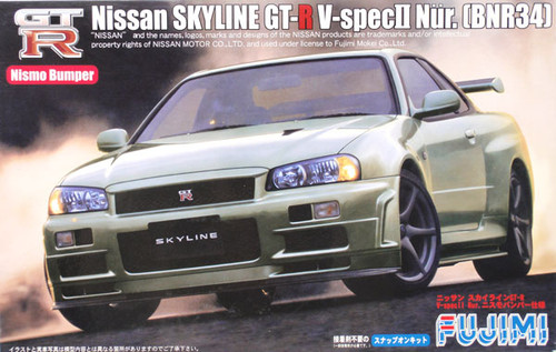 Fujimi ID-71 Nissan Skyline GT-R BNR34 Nur. 1/24 Scale Kit 037288