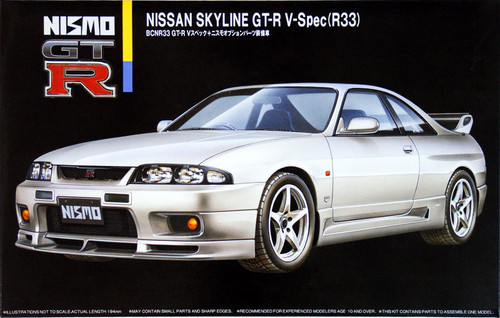 Fujimi ID-74 Nissan Skyline GT-R V-Spec R33 Nismo 1/24 Scale Kit 033877