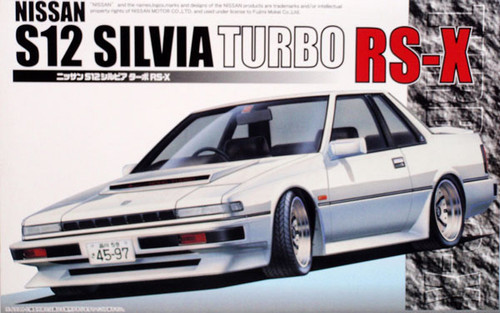 Fujimi ID-76 Nissan Silvia Turbo RS-X S12 1/24 Scale Kit