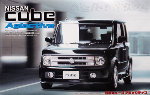 Fujimi ID-77 Nissan CUBE Agiactive 1/24 Scale Kit 036649