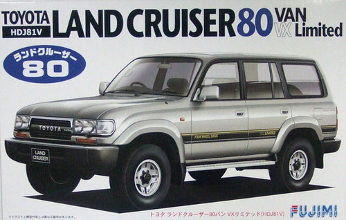 Fujimi ID-79 Toyota Land Cruiser 80 VAN VX 1/24 Scale Kit