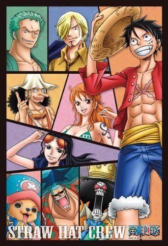 Ensky Art Crystal Jigsaw Puzzle 300-AC015 Japanese Anime One Piece (300 Pieces)