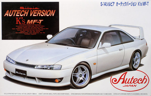 Fujimi ID-98 Nissan Silvia K's Autech Ver S14 1/24 Scale Kit 034386