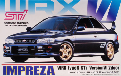 Fujimi ID-99 Subaru Impreza WRX Sti Type-R 1/24 Scale Kit 035321