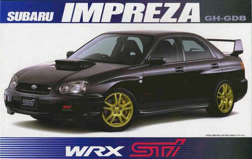 Fujimi ID-103 Subaru Impreza GH-GDB WRX STi 1/24 Scale Kit 035505