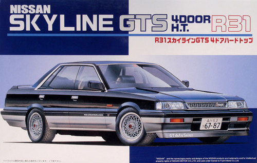 Fujimi ID-113 Nissan Skyline GTS R31 4-door 1/24 Scale Kit