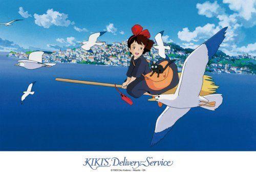 Ensky Jigsaw Puzzle 108-252 Kikis Delivery Service Studio Ghibli (108 Pieces)