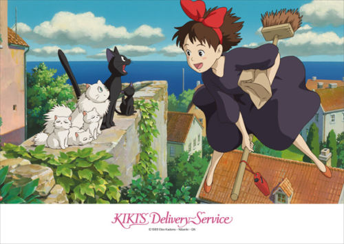 Ensky Jigsaw Puzzle 108-275 Kikis Delivery Service Studio Ghibli (108 Pieces)