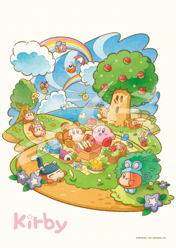 Ensky Jigsaw Puzzle 108-592 Kirby's Dream Land (108 Pieces)