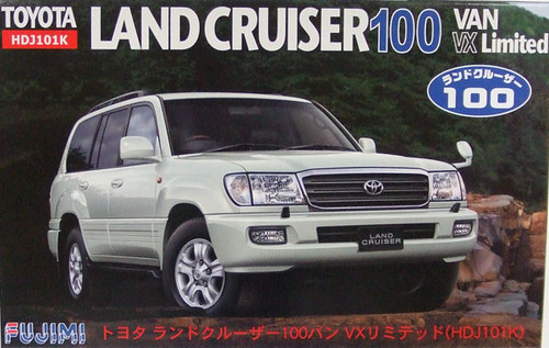 Fujimi ID-132 Toyota Land Cruiser 100 VAN VX 1/24 Scale Kit