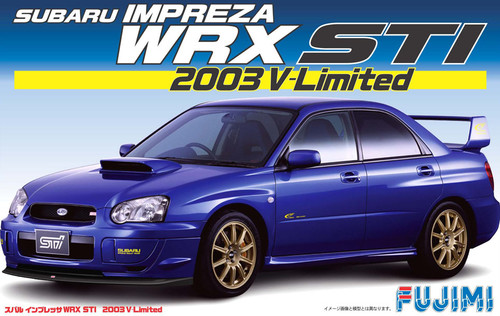 Fujimi ID-139 Subaru Impreza WRX STi 2003 1/24 Scale Kit 038063
