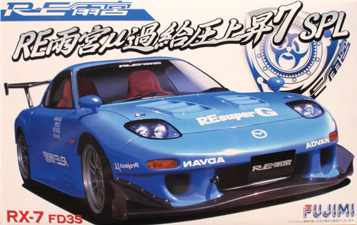 Fujimi ID-141 Mazda RX-7 FD3S RE Amemiya 1/24 Scale Kit