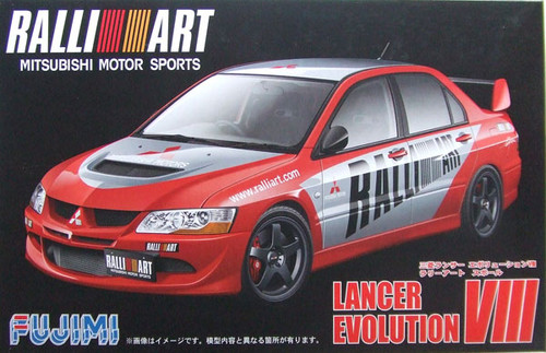 Fujimi ID-148 Mitsubishi Lancer Evolution VIII 1/24 Scale Kit