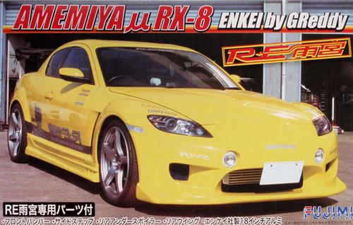 Fujimi ID-149 Mazda Amemiya RX-8 Enkei by Greddy 1/24 Scale Kit 038209