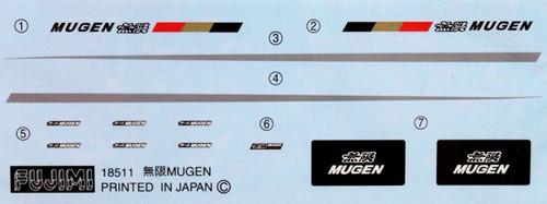 Fujimi ID-150 Honda Mugen Integra Type R DC2 1/24 Scale Kit