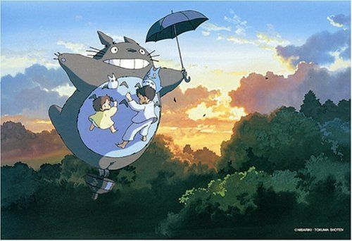 Ensky Jigsaw Puzzle 300-202 My Neighbor Totoro Studio Ghibli (300 Pieces)