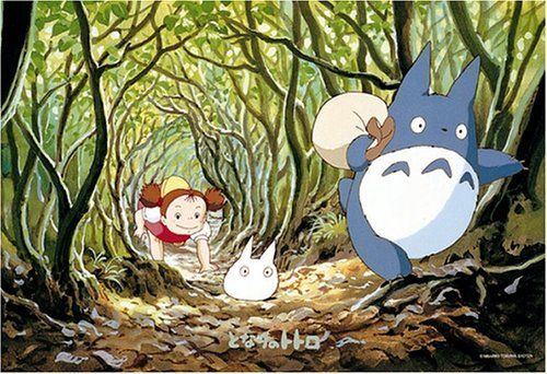 Ensky Jigsaw Puzzle 300-206 My Neighbor Totoro Studio Ghibli (300 Pieces)