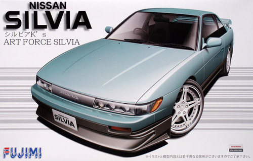 Fujimi ID-159 Nissan Silvia K's ART FORCE 1/24 Scale Kit