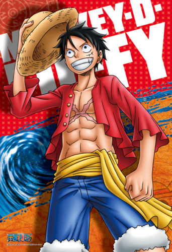 Ensky Jigsaw Puzzle 300-553 One Piece Monkey D Luffy (300 Pieces)