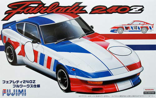 Fujimi ID-164 Nissan Fairlady 240Z Full Works 1/24 Scale Kit 038445
