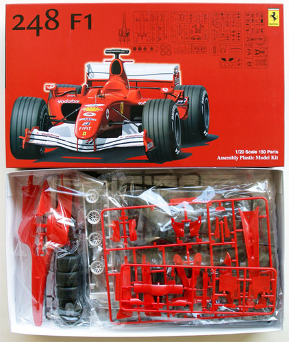 Fujimi GP9 090467 F1 Ferrari 248F1 2006 1/20 Scale Kit