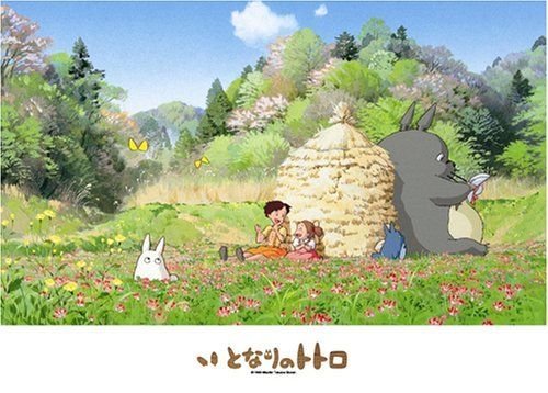 Ensky Jigsaw Puzzle 500-238 My Neighbor Totoro Studio Ghibli (500 Pieces)