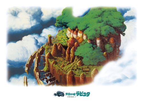 Ensky Jigsaw Puzzle 500-252 Laputa Castle In The Sky Ghibli (500 Pieces)