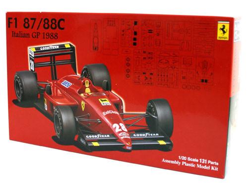 Fujimi GP12 090498 F1 Ferrari 87/88C Italian GP 1/20 Scale Kit 090498