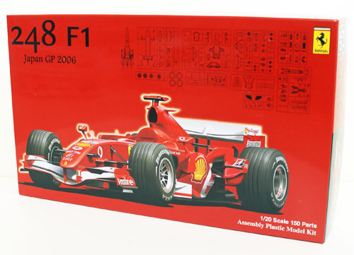Fujimi GP13 090504 F1 Ferrari 248 Japan GP 2006 1/20 Scale Kit 090504