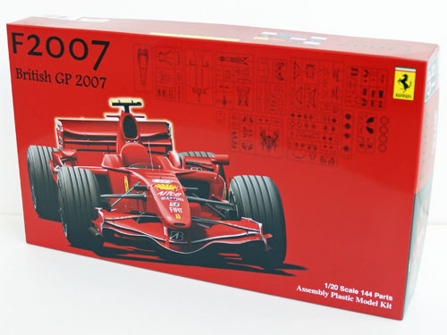 Fujimi GP15 090566 F1 Ferrari F2007 British GP 2007 1/20 Scale Kit
