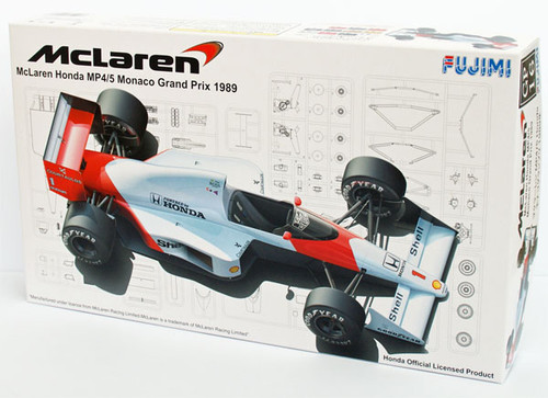 Fujimi GP16 090573 F1 McLaren Honda MP4/5 Monaco GP 1/20 Scale Kit 090573