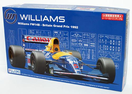 Fujimi GP17 090528 F1 Williams FW14B Britain GP 1/20 Scale Kit 090528
