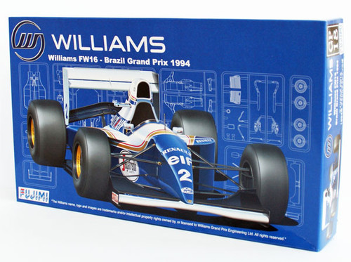 Fujimi GP18 090597 F1 Williams FW16 Brazil GP 1994 1/20 Scale Kit