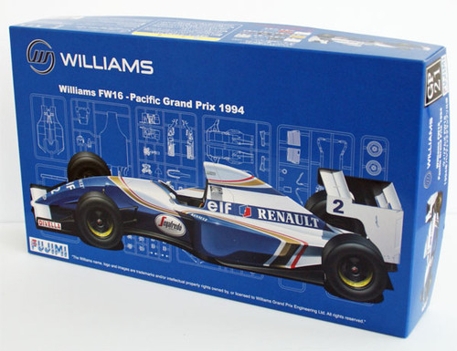 Fujimi GP21 090658 F1 Williams FW16 Pacific GP 1994 1/20 Scale Kit