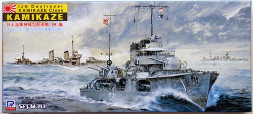 Pit-Road Skywave W-14 IJN Destroyer KAMIKAZE 1/700 Scale Kit