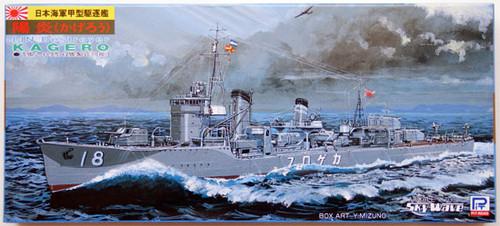 Pit-Road Skywave W-24 IJN Destroyer KAGERO 1/700 Scale Kit