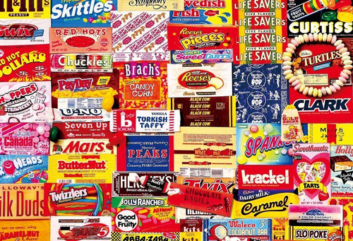 Beverly Jigsaw Puzzle 31-436 Vintage Art Candy & Chocolate (1000 Pieces)