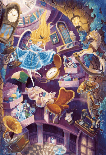Beverly Jigsaw Puzzle 31-454 ALICE Down the Rabbit Hole (1000 Pieces)