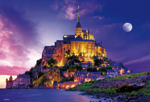 Beverly Jigsaw Puzzle 33-093 Mont Saint-Michel (300 Pieces)