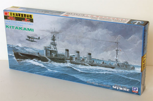 Pit-Road Skywave W-47 IJN Torpedo Cruiser KitAKAMI 1/700 Scale Kit