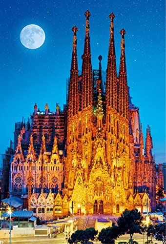 Beverly Jigsaw Puzzle 51-200 Antoni Gaudi Sagrada Familia (1000 Pieces)