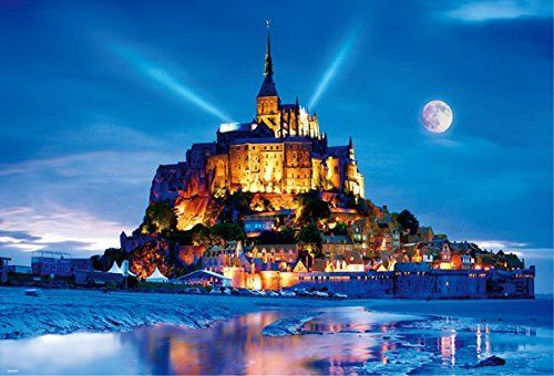 Beverly Jigsaw Puzzle 51-202 Mont Saint-Michel France (1000 Pieces)